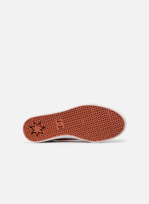 Baskets DC Shoes Trase Tx Orange vue haut