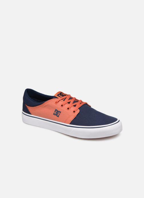 Baskets DC Shoes Trase Tx Orange vue détail/paire