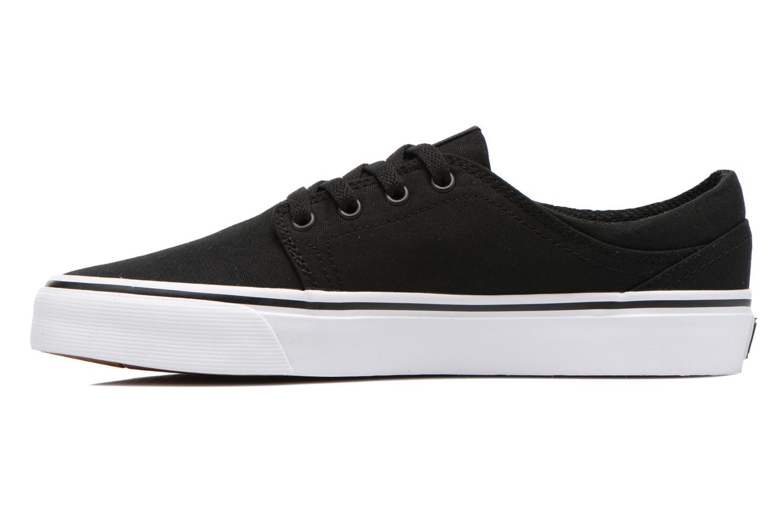 Deportivas DC Shoes Trase Tx Negro vista de frente