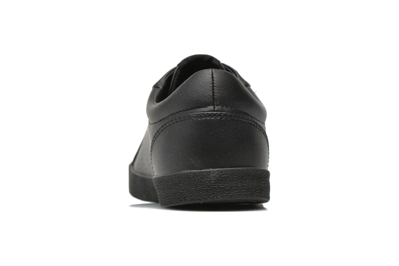 Baskets Hummel Deuce Court Tonal Noir vue droite