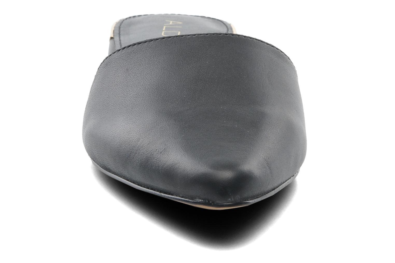 Mules et sabots Aldo Luma Noir vue portées chaussures