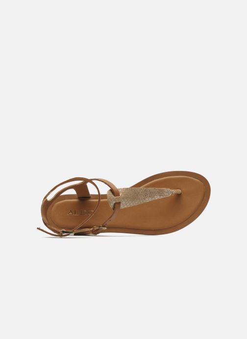 Sandales et nu-pieds Aldo Montecucco Or et bronze vue gauche