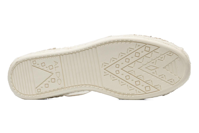 Sandales et nu-pieds Aldo Padgham Or et bronze vue haut