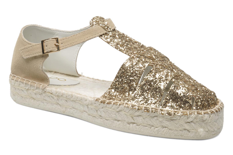 Sandales et nu-pieds Aldo Padgham Or et bronze vue détail/paire