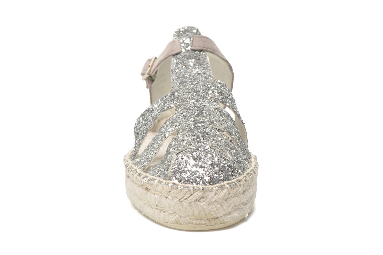 Sandali e scarpe aperte Aldo Padgham Argento modello indossato