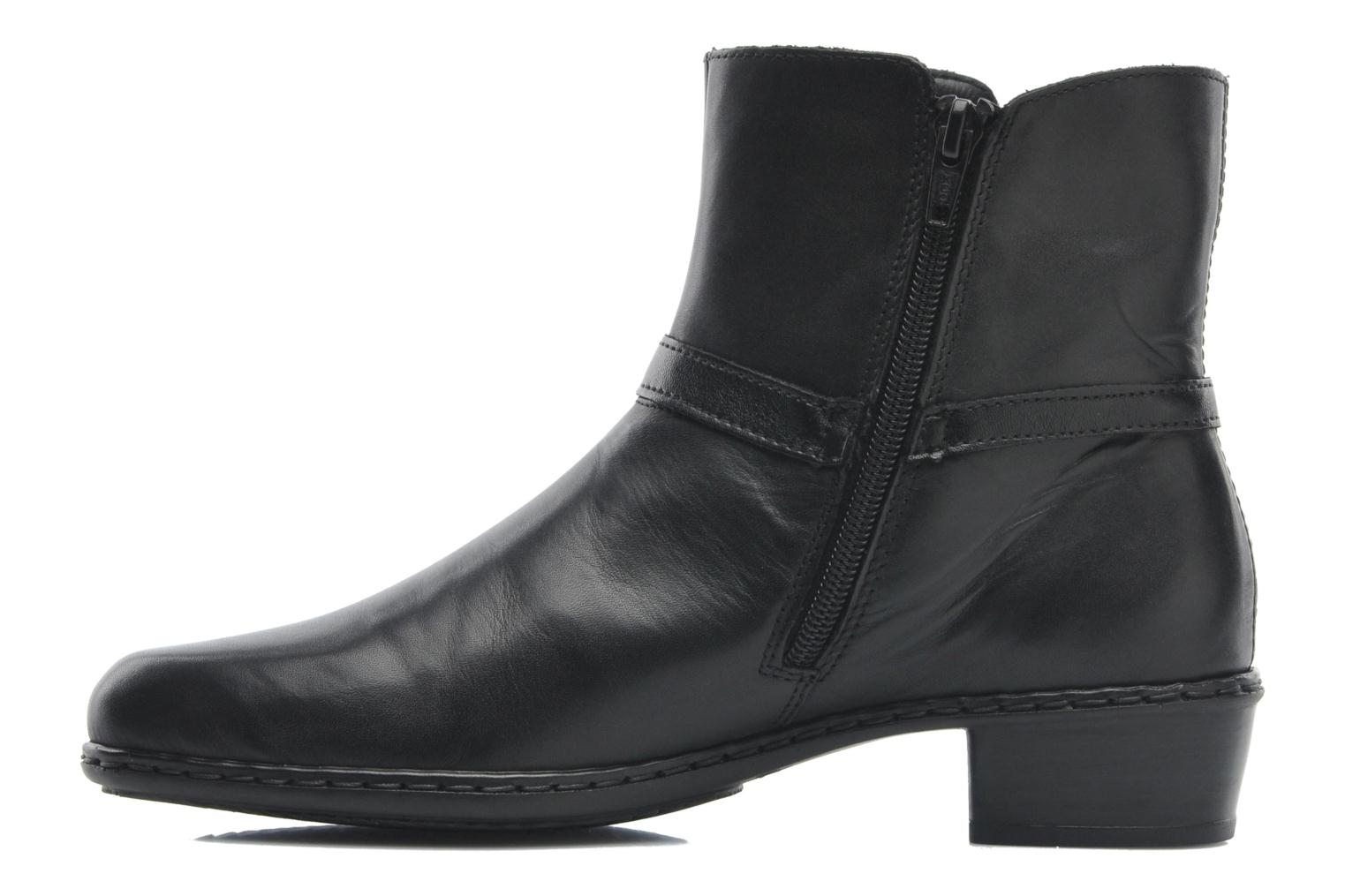 Bottines et boots Rieker Jane Y0762 Noir vue face