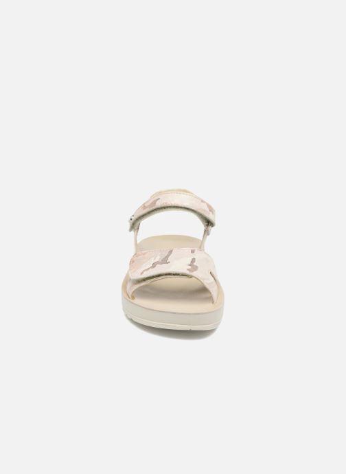 Sandales et nu-pieds Naturino Donna 6003 Rose vue portées chaussures
