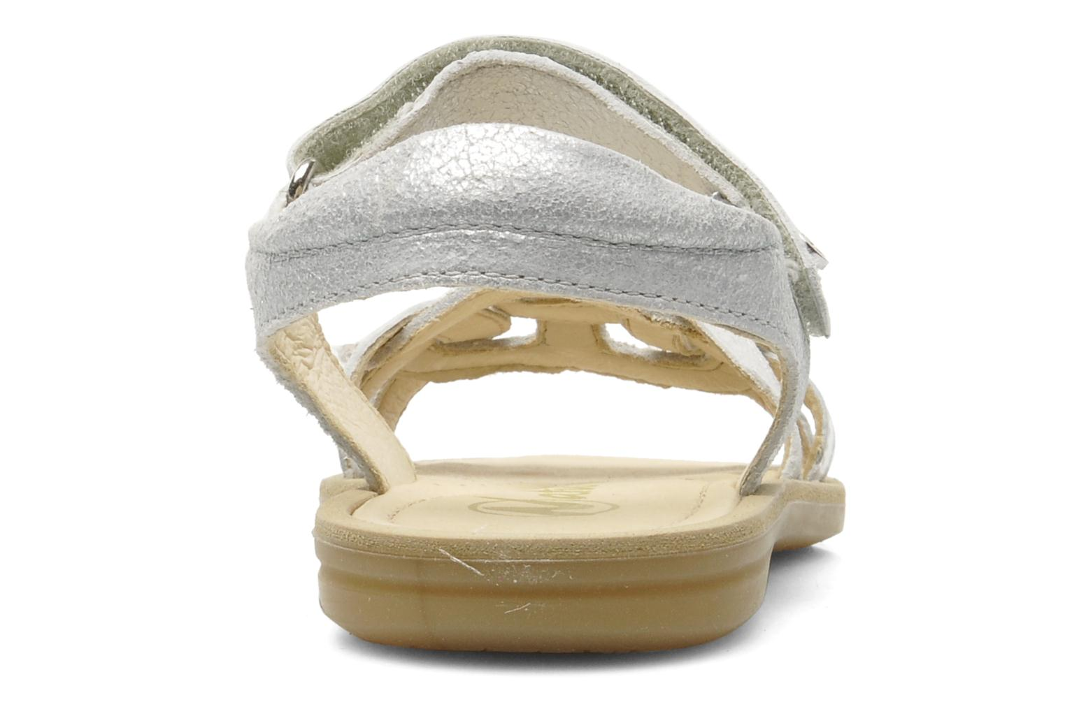 Sandals Naturino SARA 3952 Silver view from the right