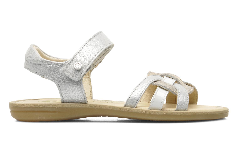 Sandales et nu-pieds Naturino SARA 3952 Argent vue derrière