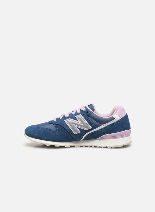 Sneakers New Balance WL996 Grijs voorkant