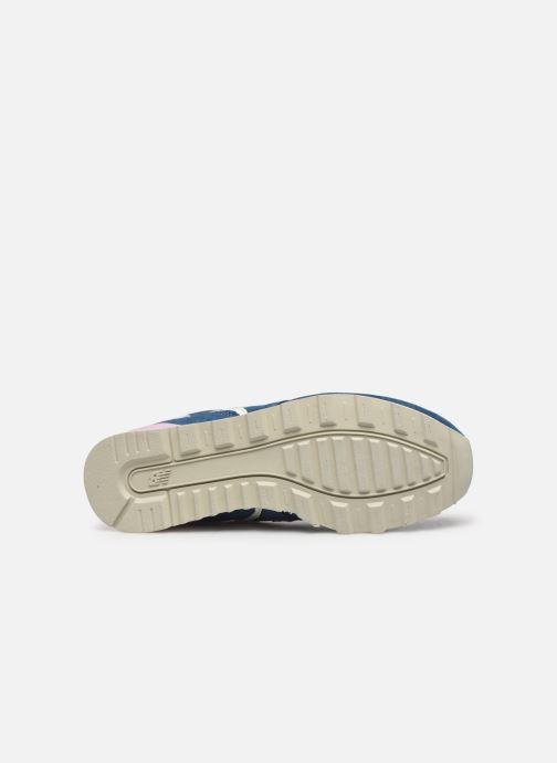 Sneaker New Balance WL996 grau ansicht von oben