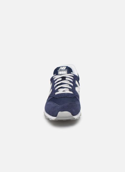 Sneaker New Balance WL996 blau schuhe getragen