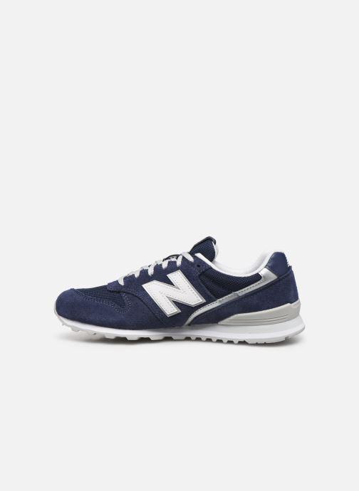 Sneakers New Balance WL996 Blauw voorkant