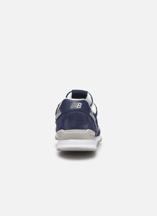Sneaker New Balance WL996 blau ansicht von rechts