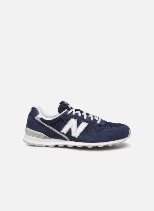 Sneaker New Balance WL996 blau ansicht von hinten