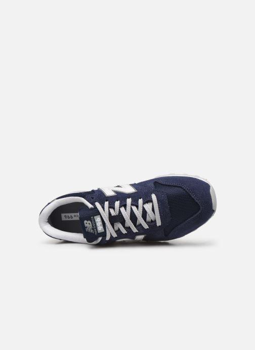 Sneaker New Balance WL996 blau ansicht von links