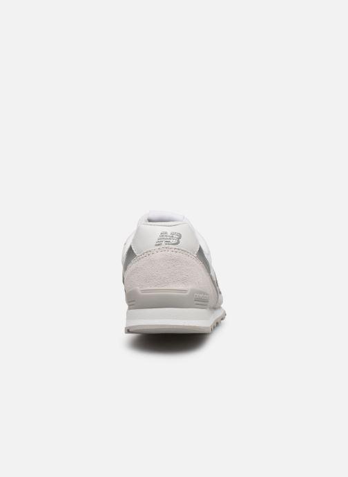 Sneaker New Balance WL996 grau ansicht von rechts