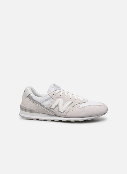 Sneaker New Balance WL996 grau ansicht von hinten