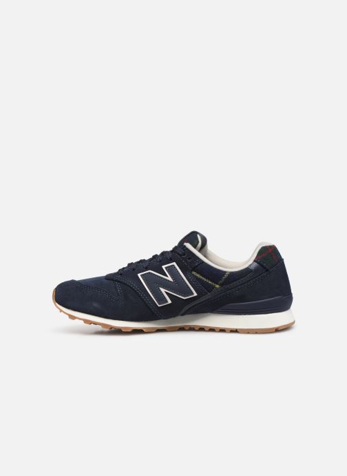 Baskets New Balance WL996 Bleu vue face
