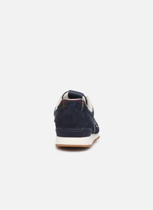 Sneakers New Balance WL996 Blauw rechts