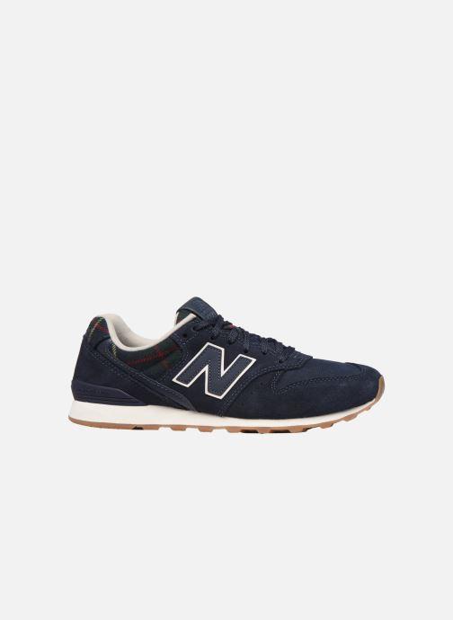 Sneakers New Balance WL996 Blauw achterkant
