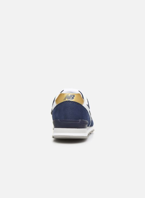 Trainers New Balance WL996 Blue view from the right