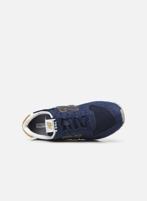 Sneakers New Balance WL996 Blauw links