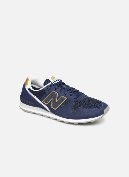 Trainers New Balance WL996 Blue detailed view/ Pair view