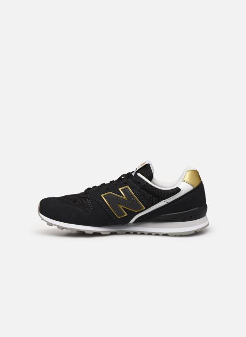 Baskets New Balance WL996 Noir vue face