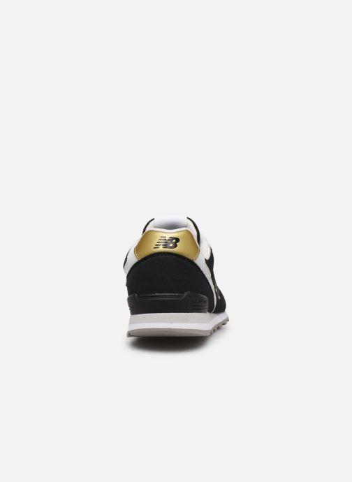 Sneaker New Balance WL996 schwarz ansicht von rechts