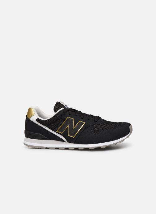 Sneaker New Balance WL996 schwarz ansicht von hinten
