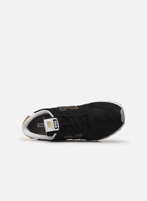 Sneaker New Balance WL996 schwarz ansicht von links