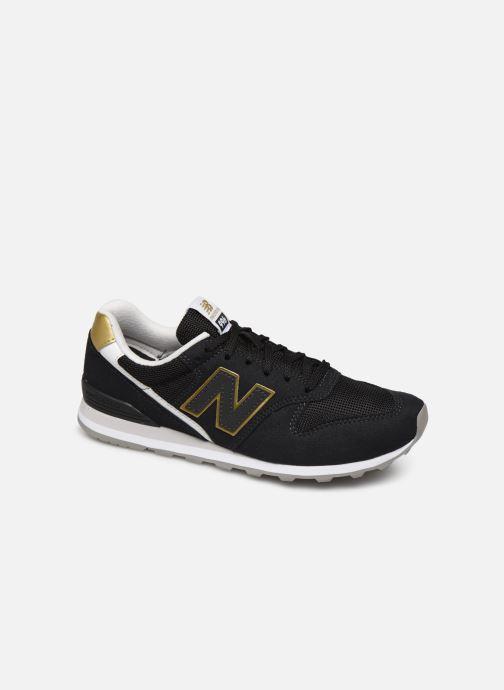 Sneaker New Balance WL996 schwarz detaillierte ansicht/modell
