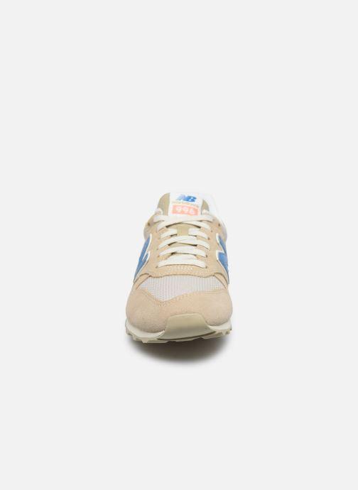 Sneaker New Balance WL996 beige schuhe getragen
