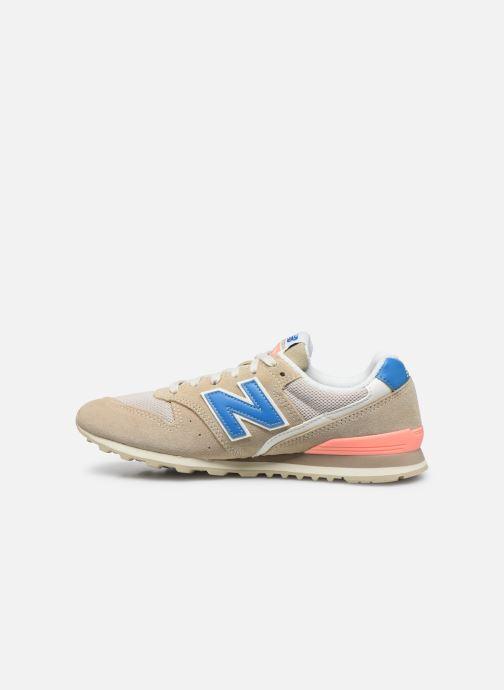 Sneaker New Balance WL996 beige ansicht von vorne