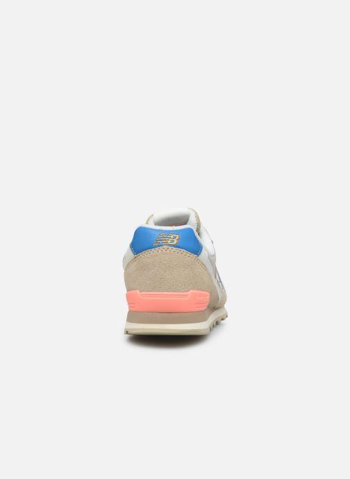 Sneaker New Balance WL996 beige ansicht von rechts