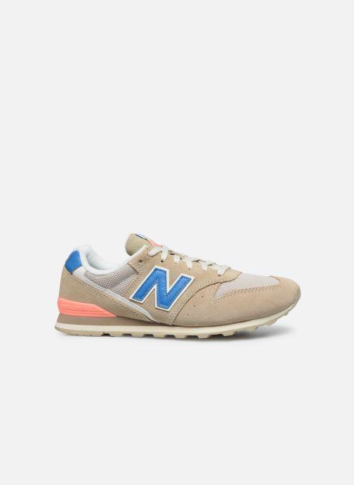 Sneaker New Balance WL996 beige ansicht von hinten