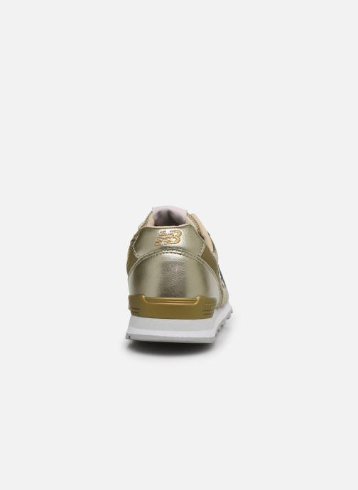 Sneakers New Balance WL996 Oro e bronzo immagine destra