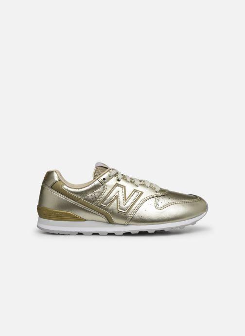 Sneakers New Balance WL996 Oro e bronzo immagine posteriore