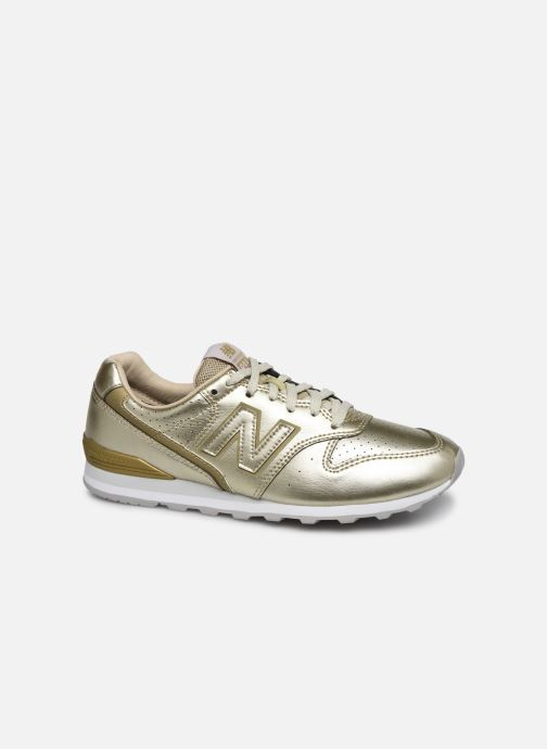Baskets New Balance WL996 Or et bronze vue détail/paire