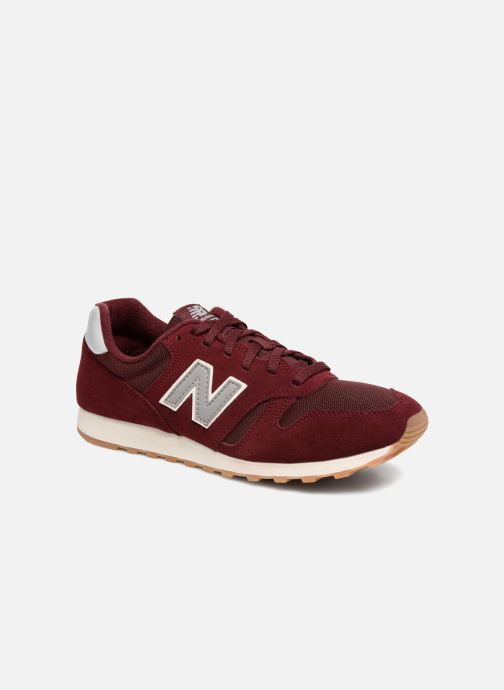 Trainers New Balance ML373 Burgundy detailed view/ Pair view