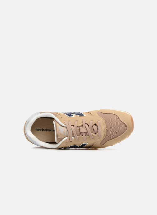 Trainers New Balance ML373 Beige view from the left
