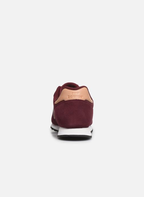 Trainers New Balance ML373 Burgundy view from the right