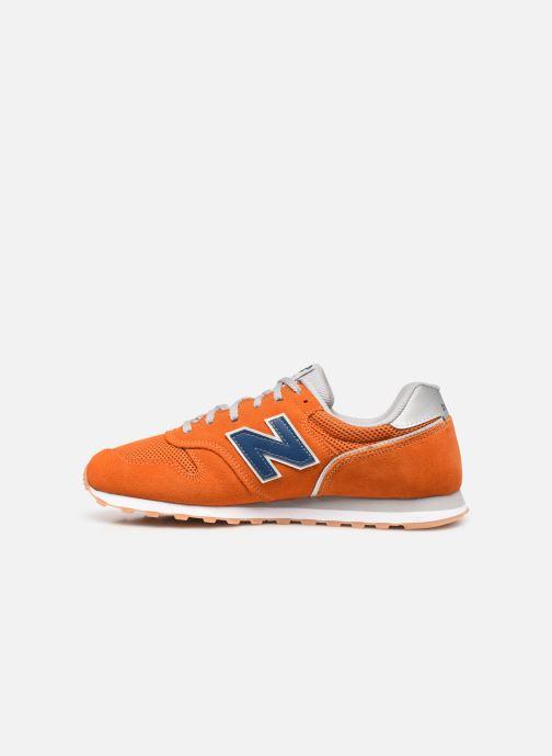 Sneaker New Balance ML373 orange ansicht von vorne