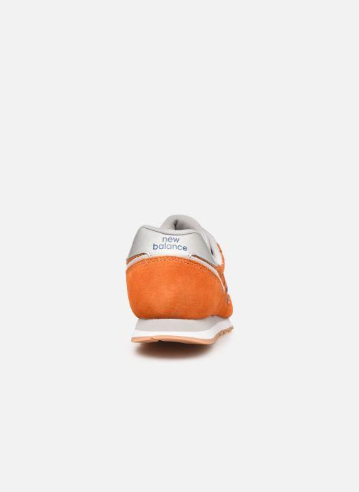 Sneaker New Balance ML373 orange ansicht von rechts