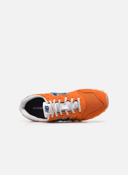 Sneaker New Balance ML373 orange ansicht von links