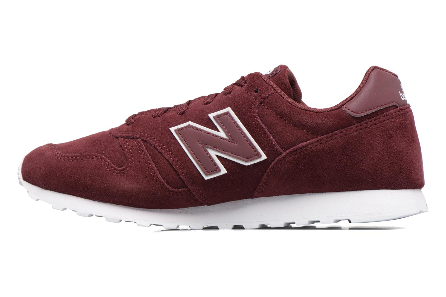 Sneakers New Balance ML373 Bordeaux voorkant