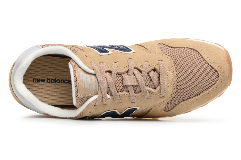 Baskets New Balance ML373 Beige vue gauche