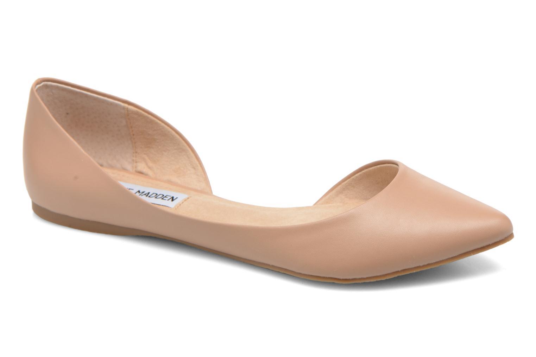Ballerinaer Steve Madden ELUSION Beige detaljeret billede af skoene
