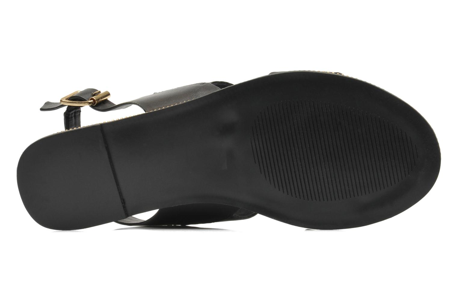 Sandals Steve Madden SANDDY Black view from above
